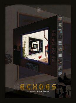 Indrammet plakat Pink Floyd - Echoes