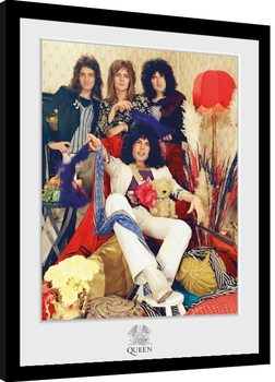 Indrammet plakat Queen - Band