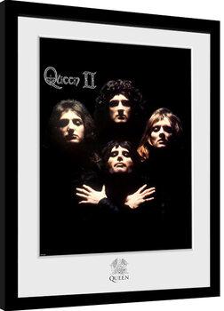 Indrammet plakat Queen - Queen II