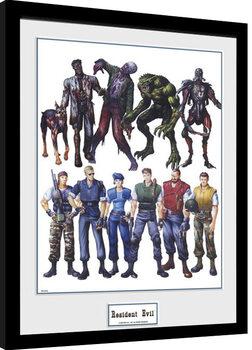 Indrammet plakat Resident Evil - Concept Art