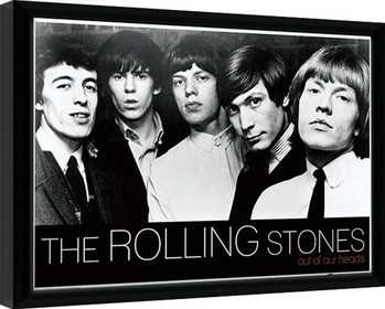 Indrammet plakat Rolling Stones - Out Of Our Heads