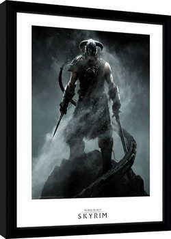 Indrammet plakat Skyrim - Dragon Born