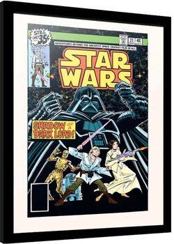Indrammet plakat Star Wars - Shadow of the Dark Lord