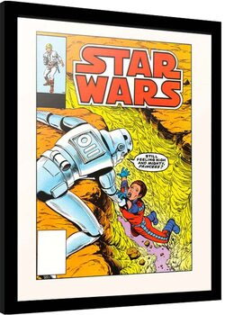 Indrammet plakat Star Wars - The Alderan Factor