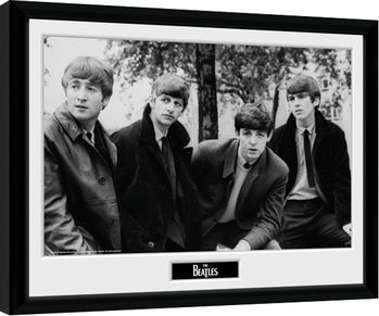 Indrammet plakat The Beatles - Pose