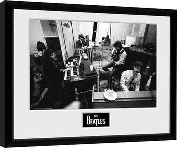 Indrammet plakat The Beatles - Studio
