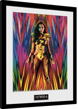 Indrammet plakat Wonder Woman 1984 - Teaser