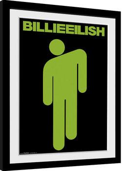 Billie Eilish - Stickman indrammet plakat