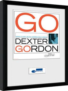 Blue Note - Dexter indrammet plakat