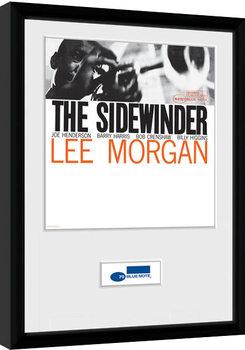 Blue Note - Sidewinder indrammet plakat