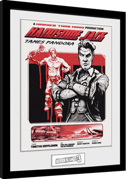 Borderlands 3 - Handsome Jack indrammet plakat