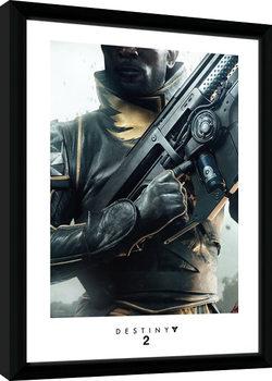 Destiny 2 - Warlock indrammet plakat