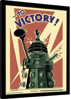 Doctor Who - Victory indrammet plakat