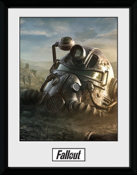 Fallout 76 - Mask indrammet plakat