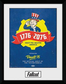 Fallout - Tricentennial indrammet plakat