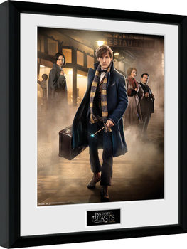 Fantastic Beasts And Where To Find Them - Group Stand indrammet plakat
