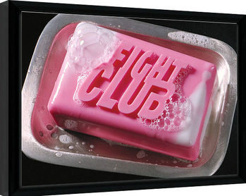 Fight Club - Soap indrammet plakat
