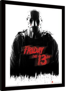 Friday The 13th - Jason Voorhees indrammet plakat