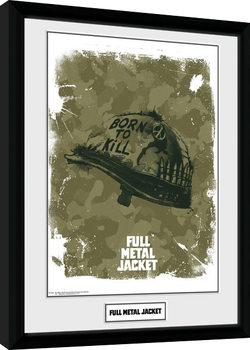 Full Metal Jacket - Helmet indrammet plakat