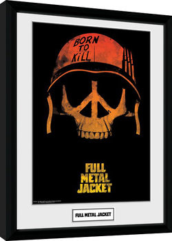 Full Metal Jacket - Skull indrammet plakat