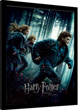 Harry Potter - Deathly Hallows Part 1 indrammet plakat