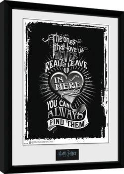 Harry Potter - Love indrammet plakat