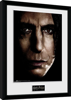 Harry Potter - Snape Face indrammet plakat
