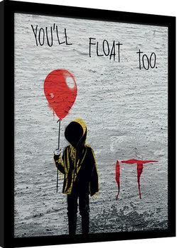 IT - Georgie Graffiti indrammet plakat