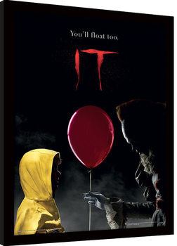 IT - Pennywise & Georgie indrammet plakat