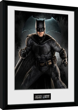 Justice League- Batman Solo indrammet plakat
