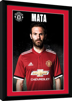 Manchester United - Mata Stand 17/18 indrammet plakat