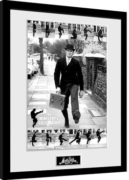 Monty Python - Ministry of Silly Walks indrammet plakat