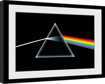 Pink Floyd - Dark Side Of The Moon indrammet plakat