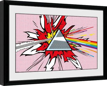 Pink Floyd - Liechtenstein indrammet plakat