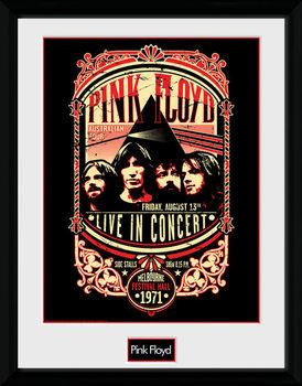Pink Floyd - Pink Floyd - 1971 indrammet plakat