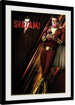 Shazam - One Sheet indrammet plakat