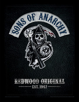 Sons of Anarchy - Cut indrammet plakat