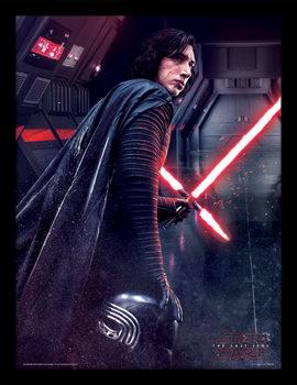Star Wars: The Last Jedi -Kylo Ren Rage indrammet plakat