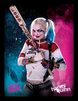 Suicide Squad - Harley Quinn indrammet plakat