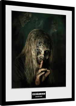 The Walking Dead - Season 9 indrammet plakat