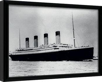 Titanic (2) indrammet plakat
