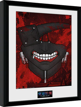 Tokyo Ghoul - Mask indrammet plakat