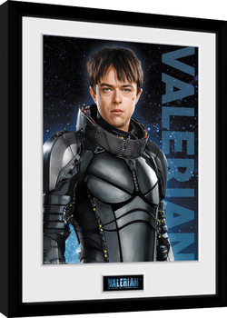 Valerian and the City of a Thousand Planets - Valerian indrammet plakat