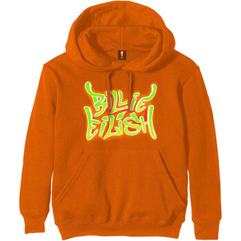 Sweater Billie Eilish - Airbrush Flames