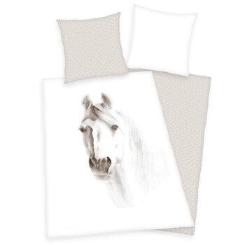 Povlečení Bílý kůň
