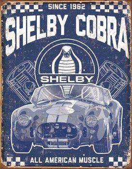 Metallschild Shelby - American Muscle