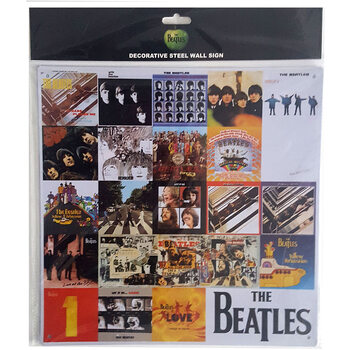 Metallschild The Beatles - Chronology