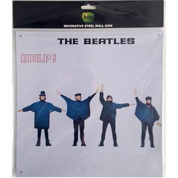 Metallschild The Beatles - Help!