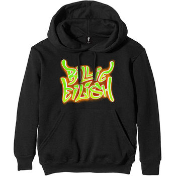 Billie Eilish - Airbrush Flames Bluse
