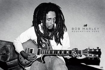 Bob Marley - Redemption Song - плакат (poster)